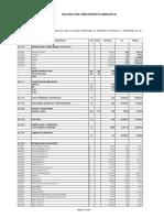 Presupuesto Analitico-2009 Educacion