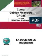 Semana 05 GP235 FIIS UNI Decision Inversion