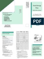 dr  wendell v  hall general dentistry p c  dental savings plan brochure