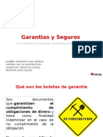 Seguros y garantias en construcción