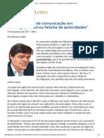 ConJur - Entrevista_ Leonardo Sica, Criminalista e Ex-presidente Da Aasp