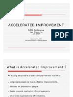 Accelerated Process Improvement