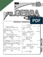 Ficha de Repaso algebra