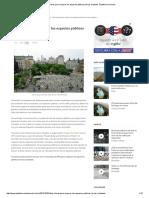 Diez Claves Para Mejorar Los Espacios Públicos de Las Ciudades, Plataforma Urbana
