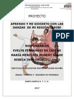 Aprendo y Me Divierto Con Las Danzas de Mi Región Caribe