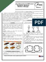 Química 01 - Materia e Energia