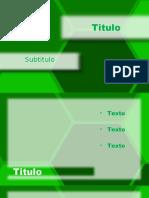 Hexagonal Verde