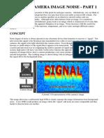 Digital Camera Image Noise