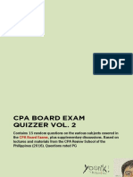 CPA Board Exam Quizzer vol. 2
