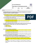 Cuestionario Para El 3er Examen de M.compuestos