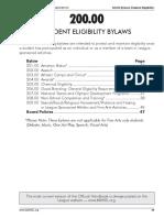 200 bylaws
