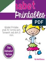 alphabetprintablepagesallabouttheletterseries