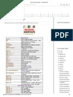 Ms-Excel Shortcut Keys - Computersadda