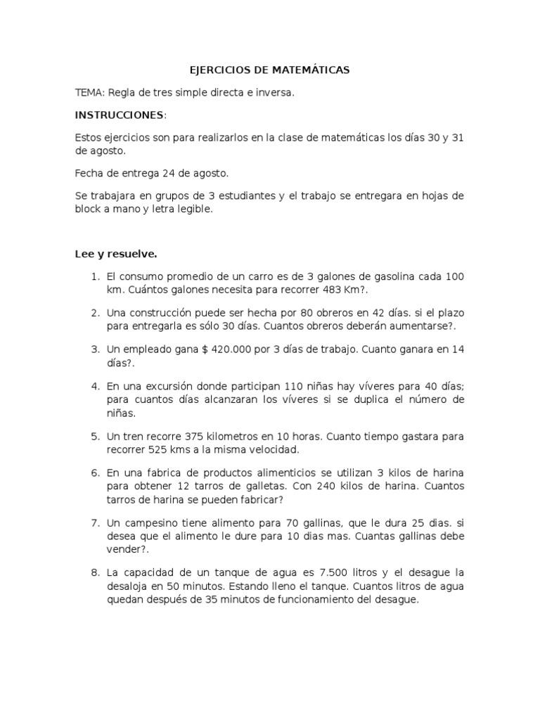 Contemporáneo Hojas De Trabajo De Matemáticas De Fábrica Colección ...