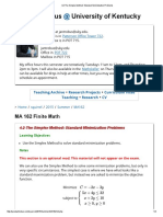 Standard Simplex Method Example-2