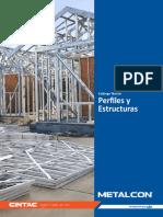 Catalogo Tecnico Perfiles y Estructuras Metalcon
