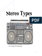 stereo types  final