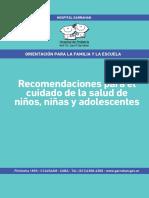 Recomendaciones Para El Cuidado de La Salud de Niños, Niñas y Adolescente Pag.23