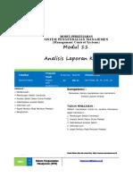 Analisis Laporan Kinerja-SPM-UMB