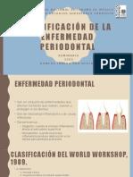 Clasificación de La Enfermedad Periodontal