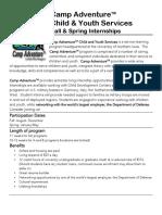 2017 internship info flyer