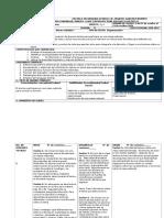 Secuencia Didactica de Español Tema 4