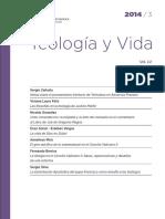 Teología y Vida, Vol. 55, Núm. 3 (Julio-sept. 2014)