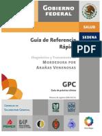 GPC_Diagn y Tratam de Mordedura Por Arañas Venenosas