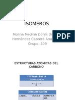 Tarea 3 Tablas de Isomeros