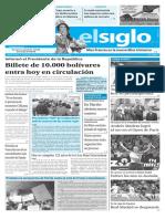 Edicion Impresa El Siglo 30-01-2017