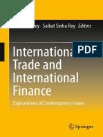 International Trade and International Finance