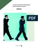 NPRAE-PEBX card