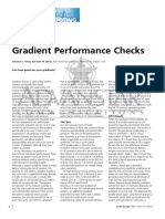 Gradient Performance Checks