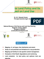 Land Policy and its Impact on Land Use in Karnataka