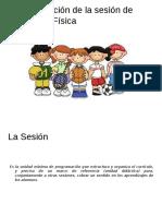La Planificación de La Sesión de Educación Física
