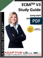 ECBA V3 Preparation Guide