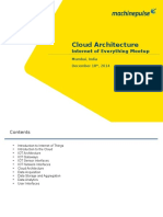 IoT Cloud Architecture