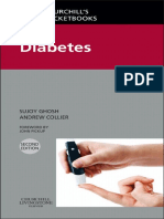 (Churchill Pocketbooks) Sujoy Ghosh, Andrew Collier-Churchill's Pocketbook of Diabetes-Churchill Livingstone (2012)