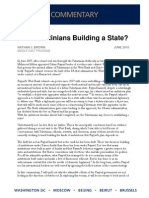 Are Palestinians Building a State?