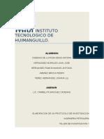 Protocolo de Investigacion Proceso de Llantas Recicladas