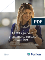 A CMO's guide to e-commerce success with PIM