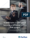 6 daily tasks in ERP which become a lot easier with a PIM system