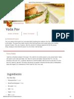Vada Pav Recipe _ Maharashtrian _ MTR Dishcovery