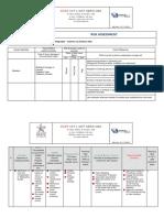 Task Risk Assessment for Radiography