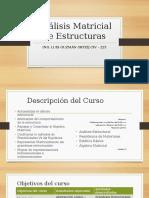 Análisis Matricial de Estructuras