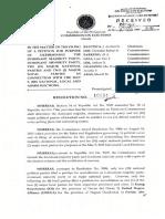 Political Parties (COMELEC Resolution No. 10094)
