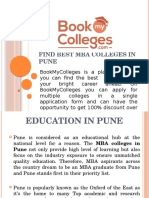Find Best MBA Colleges in Pune