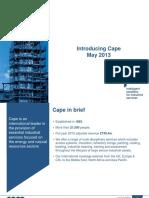 Cape Presentation