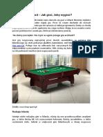 PDF Hop Sport Stoly Bilardowe