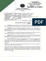 Random Manual Audit (COMELEC Resolution No. 10078)
